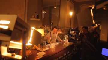 Rodaje El Barman