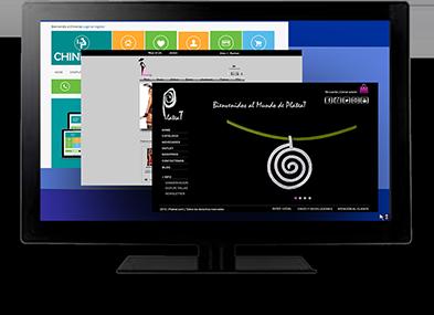 Ejemplo del trabajo PlateaT en su diseño web